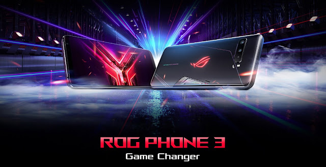 Asus ROG Phone 3 Launched With Full HD+ 144Hz AMOLED Display, 5G, 6000mAh Battery & More