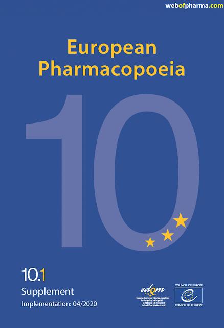 EP 10 (EUROPEAN PHARMACOPOEIA 10th EDITION) pdf free download