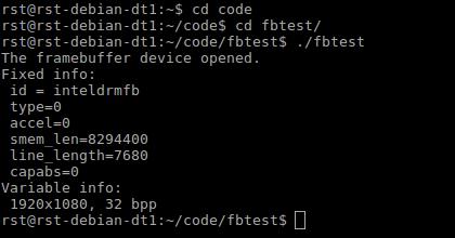 Raspberry Compote: Low-level Graphics on Raspberry Pi vs