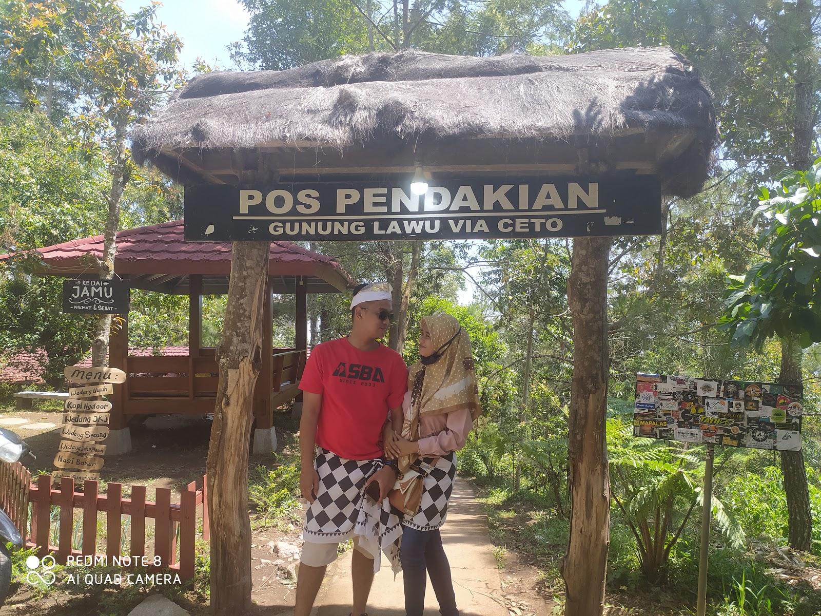 Pos Pendakian Gunung Lawu via Candi Ceto
