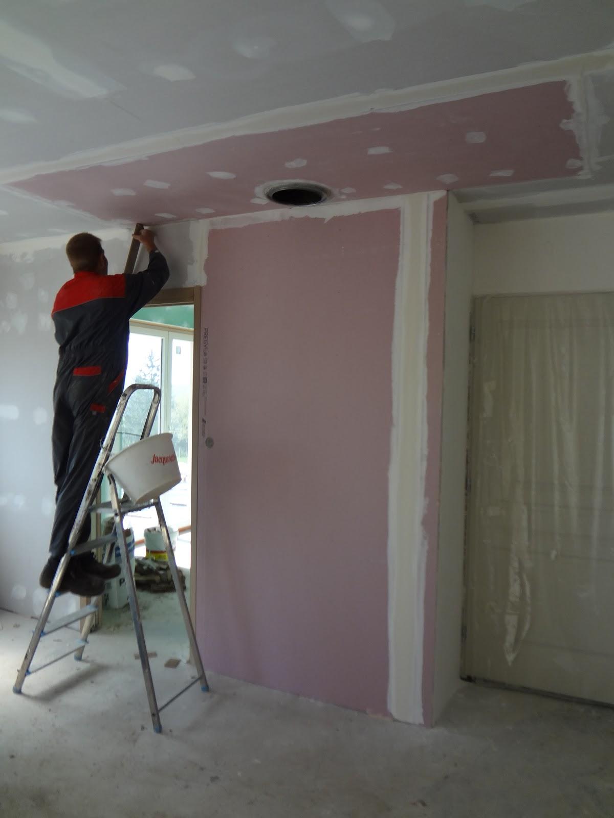 maison isolation paille ni vre le placo et plafond. Black Bedroom Furniture Sets. Home Design Ideas