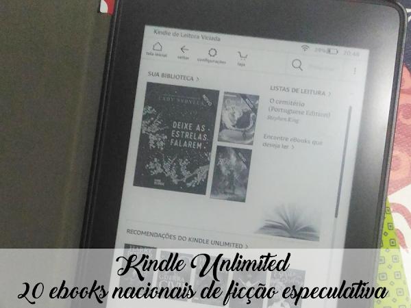 Dicas de Leitura: 20 ebooks nacionais de ficção especulativa disponíveis no Kindle Unlimited