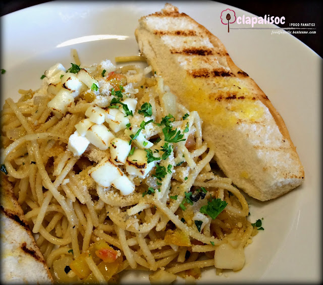 Aglio e Olio from Lucky's Burger & Bar