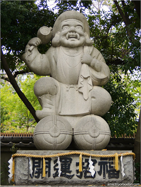 Daikokuten en el Santuario Kanda Myojin