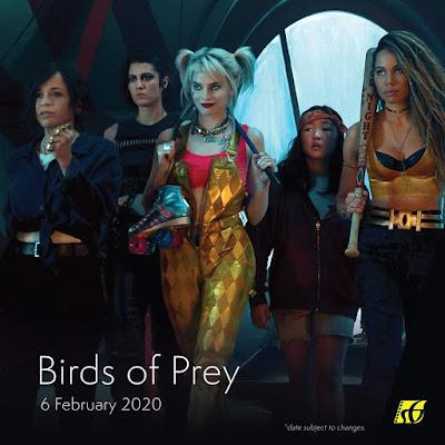 Senarai Filem Yang Akan Keluar di Panggung Wayang Tahun 2020 - Birds of Prey (2020)