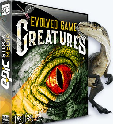 Sound Libraries – Epic Stock Media – Evolved Game Creatures – Monster Sounds [WAV]