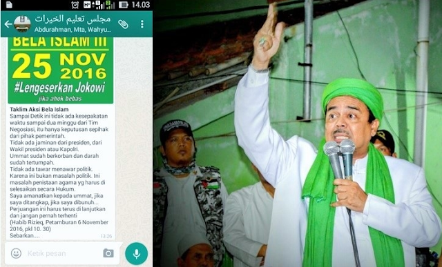 Aksi Bela Islam III pada 25 November 2016