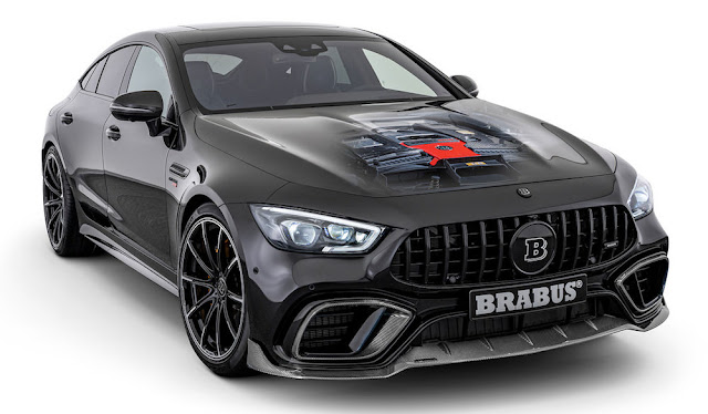 4ドアの「メルセデスAMG GT」をブラバスが800馬力にカスタムした「ブラバス800」が登場!