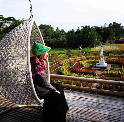Taman Bunga Wisata Kampung Flory Sleman Yogyakarta