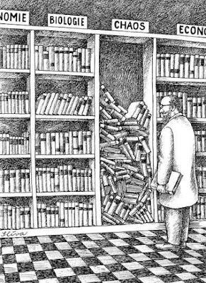 Meme de humor sobre librerías