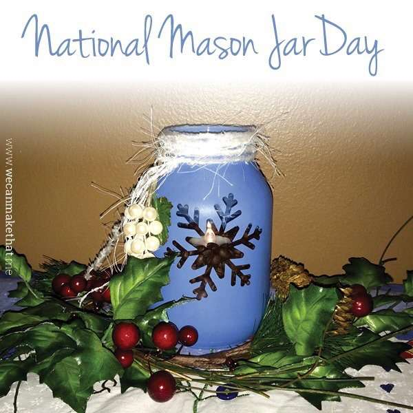 National Mason Jar Day Wishes Sweet Images