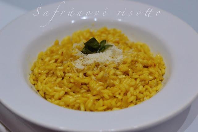 Šafránové risotto