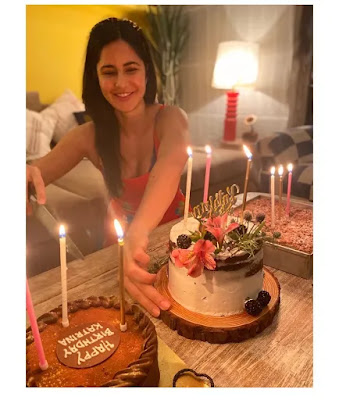 Katrina Kaif gives a glimpse of her quarantine birthday celebration; Thanks everyone for their wishes