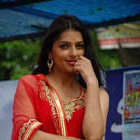 Bhumika chawla latest hot photos in red dress