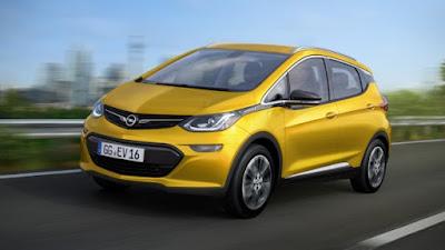 Debutto parigino per Opel Ampera