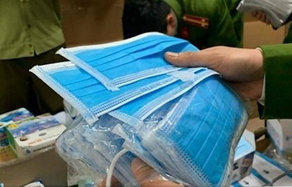 Lô khẩu trang hơn 1 tỷ bị tạm giữ là hàng giả làm từ giấy vệ sinh