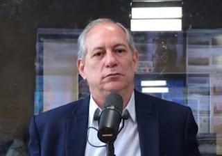 Ciro defende Bolsonaro na 'guerra' com Sergio Moro
