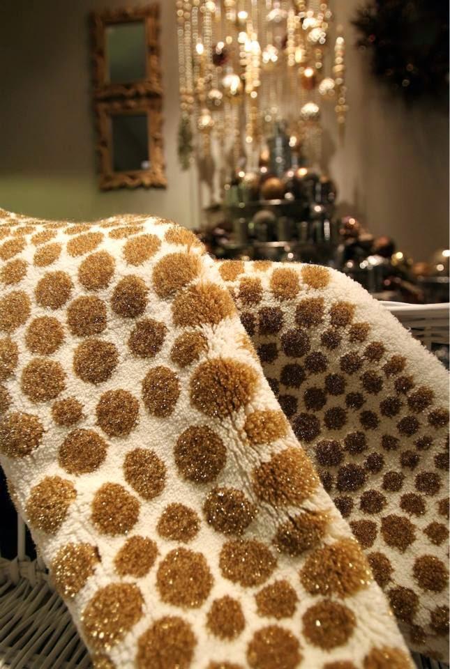 metallic gold bath rug - abyss habidecor dolce gold | sheet envy