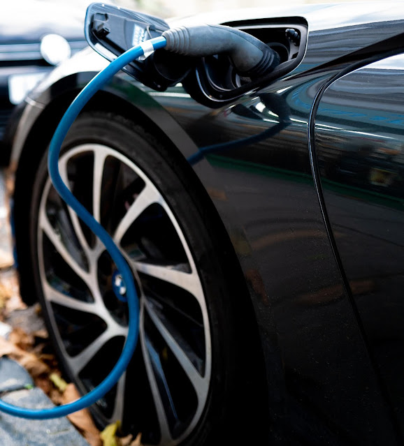 Electric car charging: Photo by the blowup on Unsplash