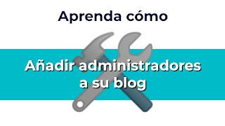 Añadir administrador a mi sitio web