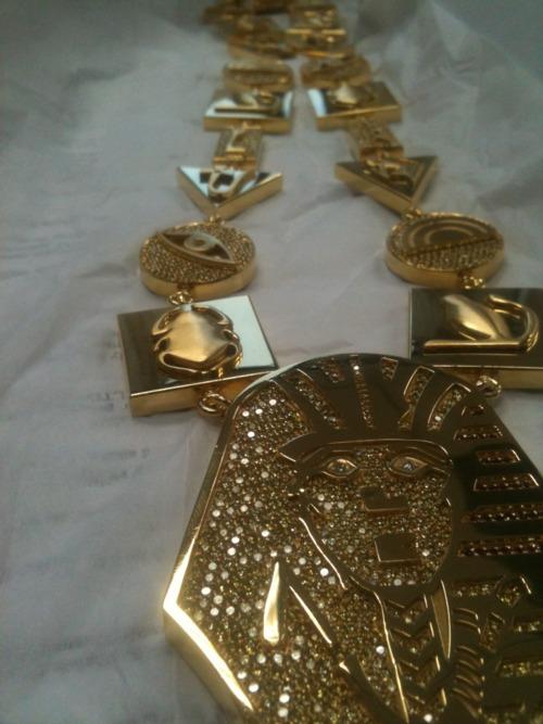 Tyga's Last Kings 24k Gold Diamond Chain | FRESH'10