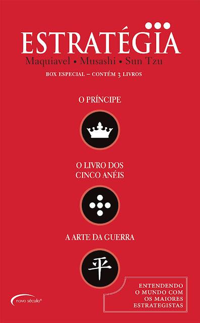O Essencial da Estratégia - Box Especial Contém Três Obras - Sun Tzu, Nicolau Maquiavel, Miyamoto Musashi