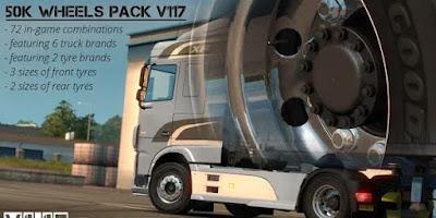 Wheel Pack BY 50KEDA V5.2
