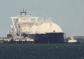 Tankers putting away LNG in Asian waters magnify