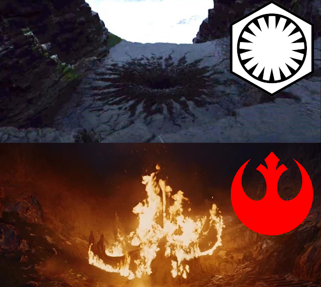burning rebel symbol