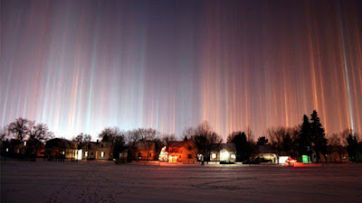 Magical Light Pillar, Moscow Light Pillar