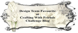 DT Favorite at Crafting With Friends Challenge