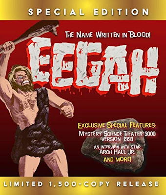 Cover art for Limited Edition EEGAH! Blu-ray!