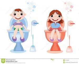 Toilet Training Berbasis Visual Interaktif Solusi Menarik