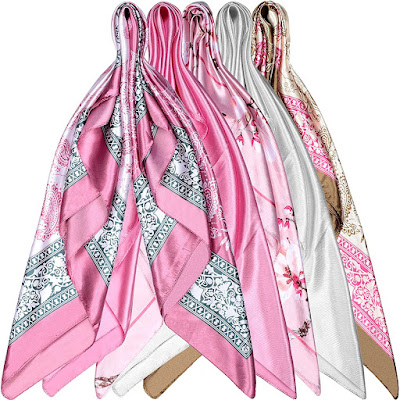 Beautiful Satin Head Scarves for Women