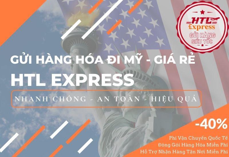 Gửi Hàng Đi Mỹ Giá Rẻ Tại TPHCM - HTL Express