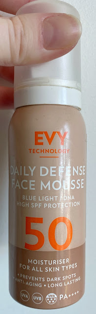 Evy Technology Daily Defence Face Mousse SPF 50