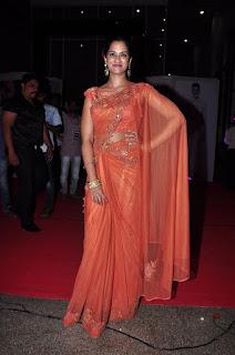 Actress Nanditha Stills in Saree at Savitri Audio Launch  0043.jpg
