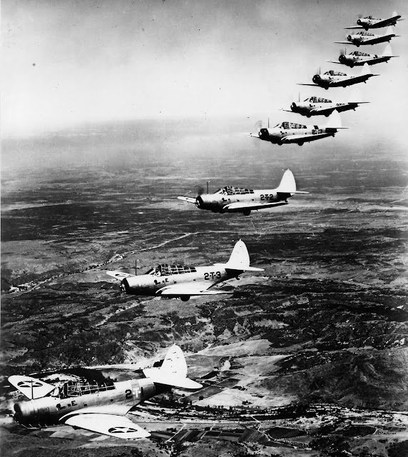 6 January 1941 worldwartwo.filminspector.com TBD-1 Devastators