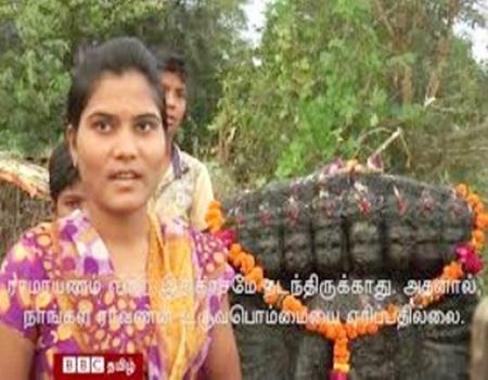 Ravananai Vatham Seiyaamal Vazhipadum Kiramam