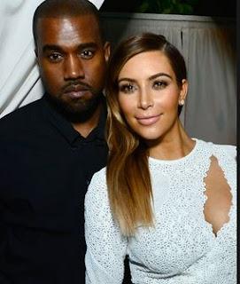 Kim Kardashian con Kanye en Oprah Show
