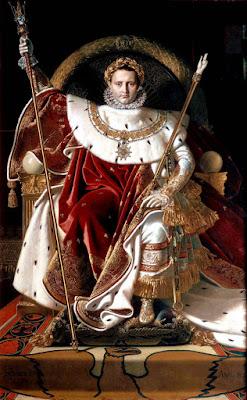 Наполеон I. Жан Огюст Доминик Энгр. 1806.