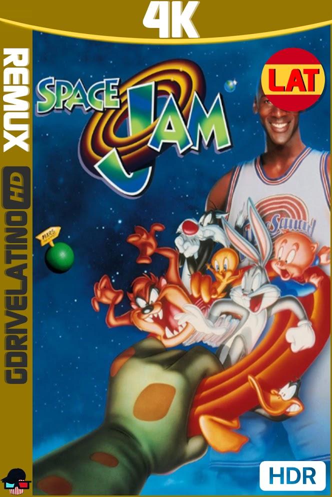 Space Jam : El Juego del Siglo (1996) BDRemux 4K HDR Latino-Ingles MKV