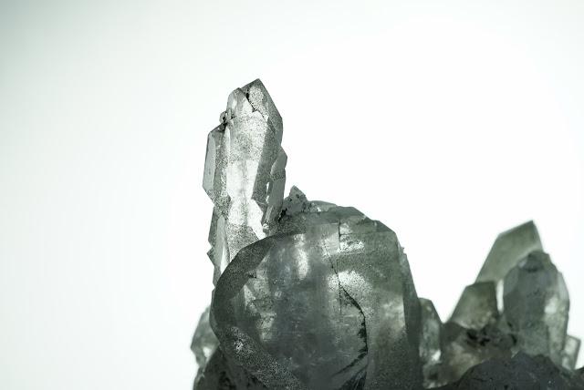 cristal de quartz fumé du Mont-Blanc