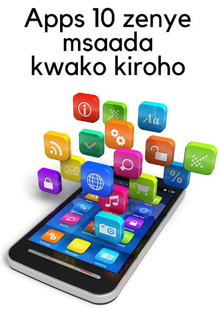Apps 3 zenye msaada kwako kiroho