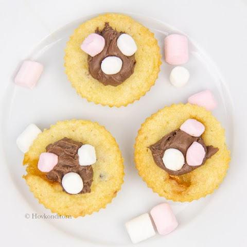 Marshmallow Cookie Cups