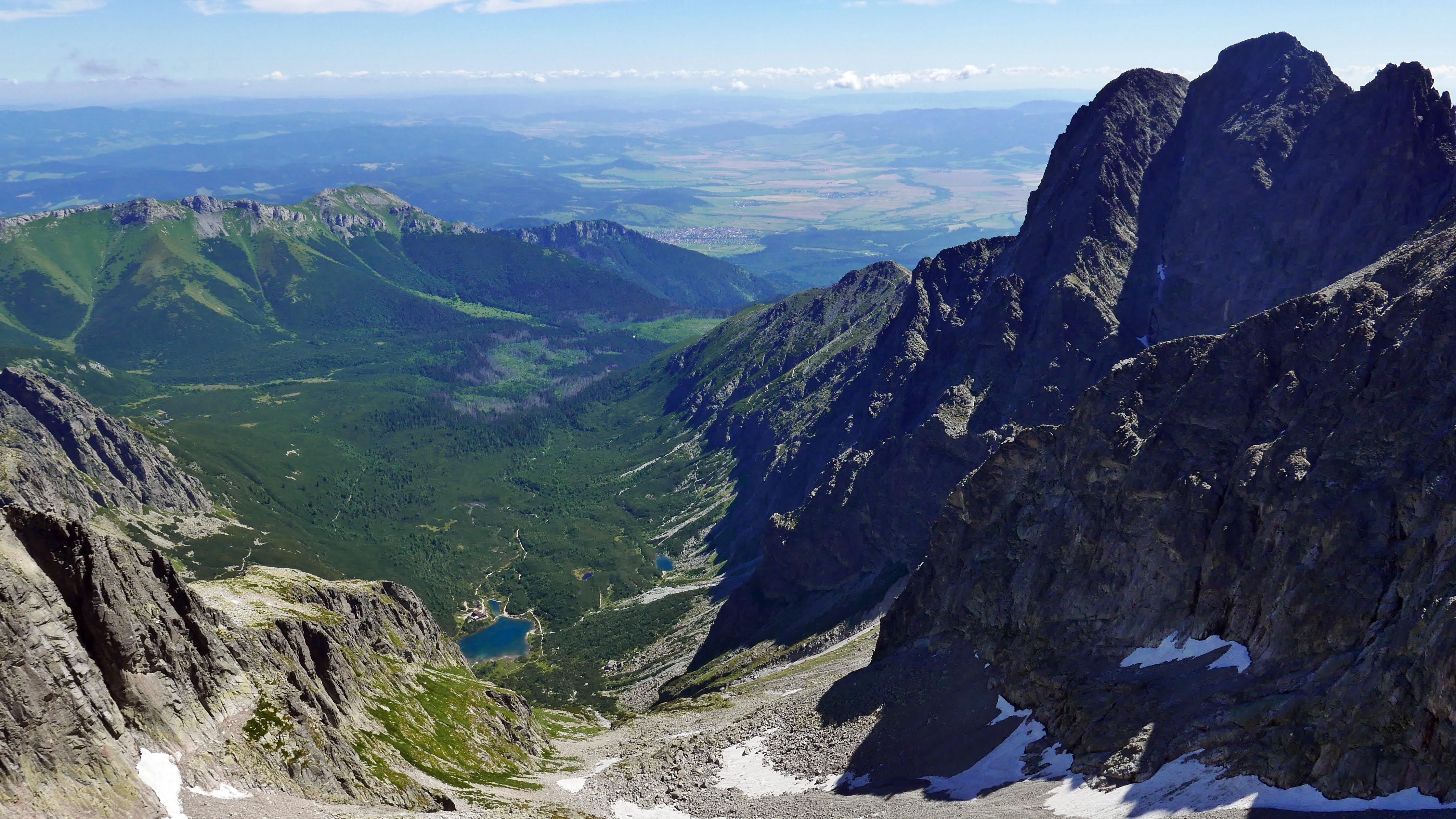 panorama z Baranich Rogów