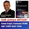 Kenalin Nih... Komisaris Kelakuan Miris, 'Prestasinya' Cuma Hina Anies