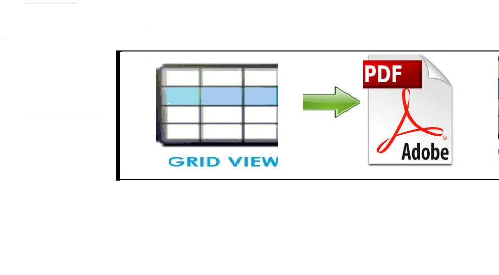 Gridview Data To Pdf Using Asp Net