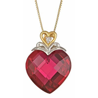 Heart-Shaped-Ruby-and-Diamond-Accent-Pendant