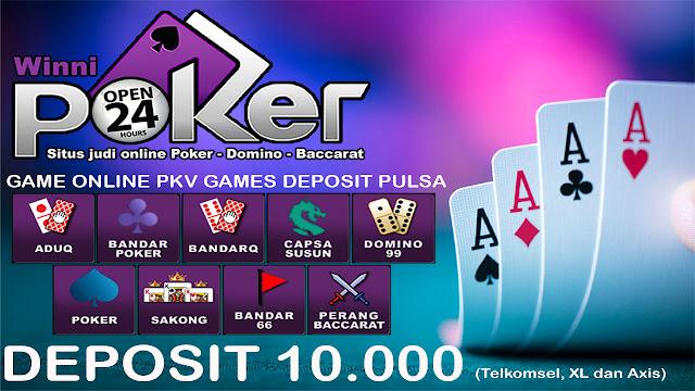 PKV GAMES   Situs judi online 24jam   Deposit Pulsa